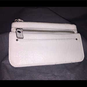 Relic's White Simulated Leather Wallet Clutch